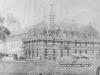 Construção do antigo Collegio Seraphico e convento São Luis de Tolosa em 1920
