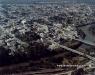 Vista aérea na década de 90