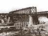 Construção da Ponte Metálica Dr. Diniz Assis Henning