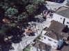 Vista aérea do Calcadão de Rio Negro na década de 90