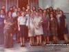 Festa de aposentadoria de D. Xênia em dezembro de 1975