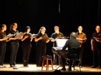 Coral Vox encantou o público em Rio Negro