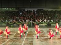 Público lotou o Ginásio do Sesi para prestigiar o III Festival de Dança Edição de Inverno