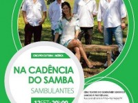 """Show """"Sambulantes na Cadência do Samba"""" em Rio Negro"""