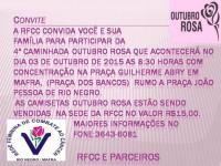 4ª Caminhada Outubro Rosa