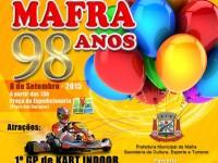 Rua do Lazer Especial Mafra 98 anos