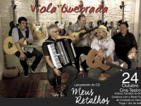 Viola Quebrada lança álbum 'Meus Retalhos' em Rio Negro